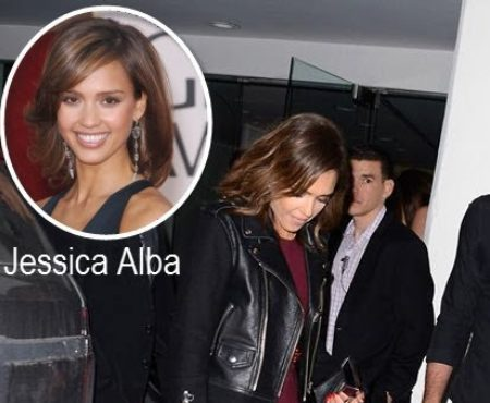 Spotted! Jessica Alba carries Sexy Hair