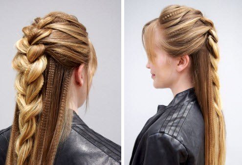 How To Edgy Braid Style Sexy Hair