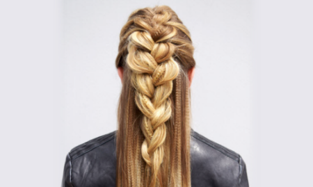 How-To: Edgy Braid Style