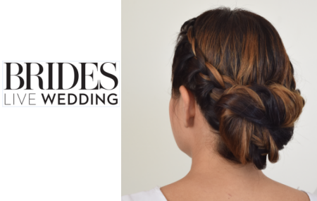Get the Look | Brides Live Wedding Braided Bun