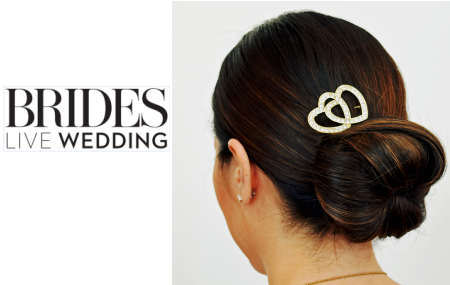 Get the Look | Brides Live Wedding Jeweled Chignon