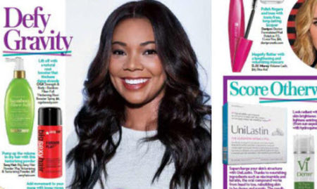 OK! Magazine   Get Gabrielle Unions Hairstyle with Powder Play