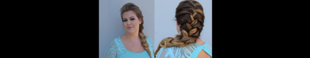 Elsa from Frozen |  Braid Tutorial