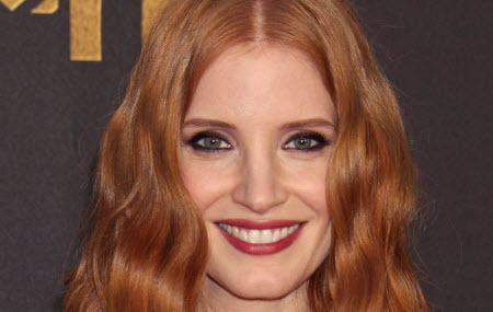 Jessica Chastain at the 2016 MTV Movie Awards | Create her beautiful tousled look