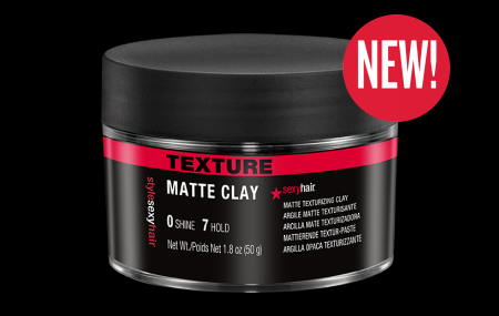 Meet one of Sexy Hair's newest additions | Style Sexy Hair Matte Clay