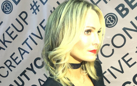 Pink Carpet at Beautycon Dallas | Learn how to get Molly Sims's look!