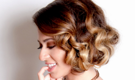 Prom Hair | How To Short Glam Style