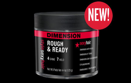 Meet one of Sexy Hair's newest additions   Style Sexy Hair Rough & Ready