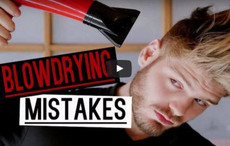 See Vlogger Anthony Deluca's tips to shields hair from heat damage when using hot tools