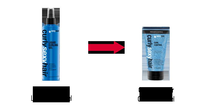 Curlysexyhair liquid curling gel