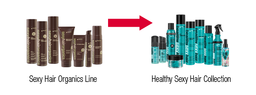 Healthy Sexy Hair Collection