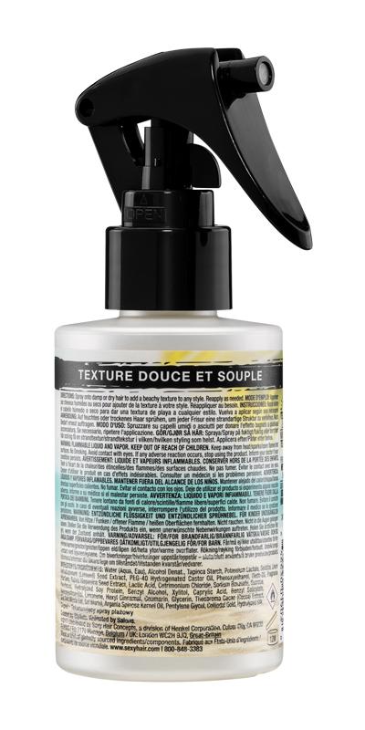 Texture beach n spray back