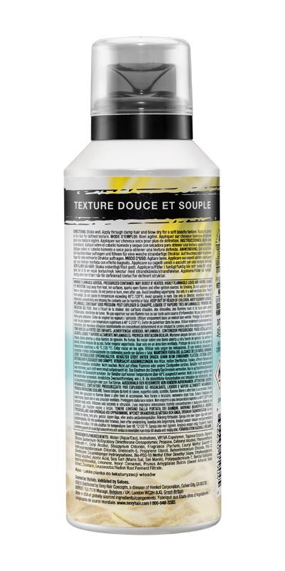 Texture foam party back
