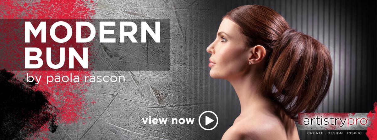 artistrypro modern bun video