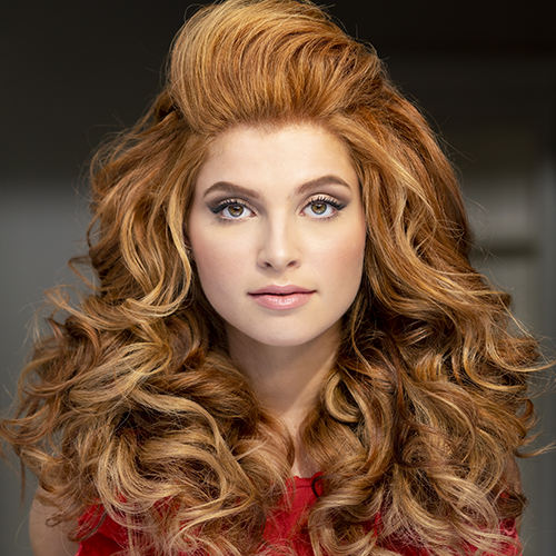 2019 Big SexyHair image of Red Head Model