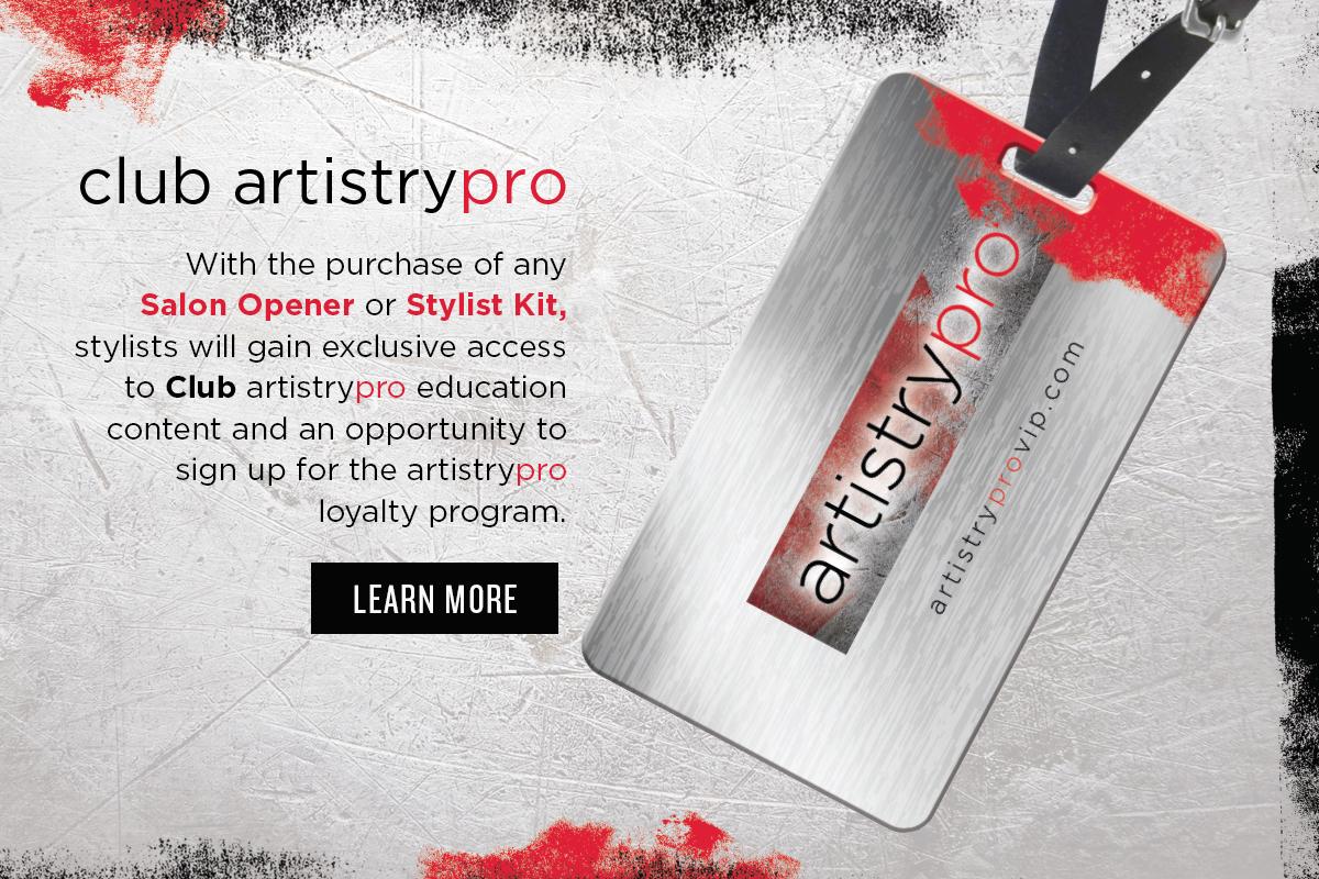 Club artistrypro Loyalty Program